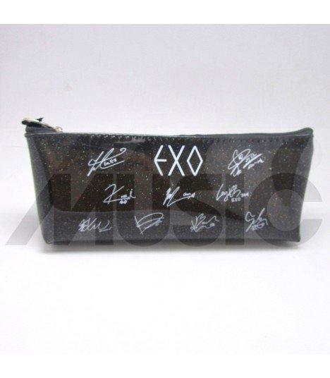EXO - Trousse Plate - Autographed (BLACK)