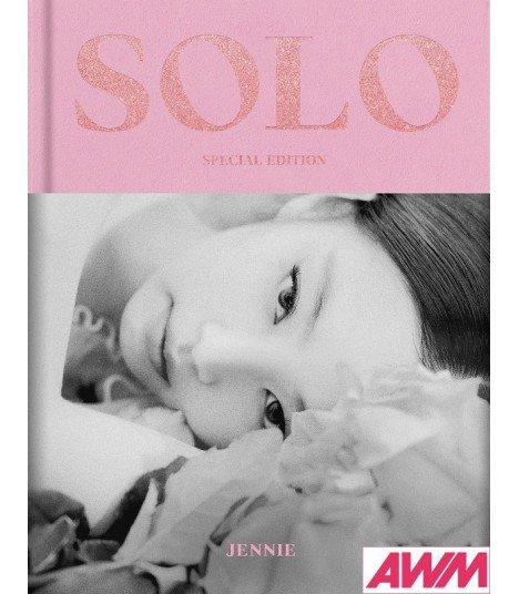 JENNIE (제니) SOLO PHOTOBOOK (Special Edition) (édition coréenne)