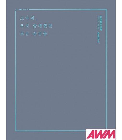 WANNA ONE (워너원) Photo Essay Season 2 (PHOTOBOOK) (édition coréenne)