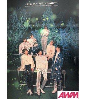 Affiche officielle GOT7 - Present You & Me (Type C)
