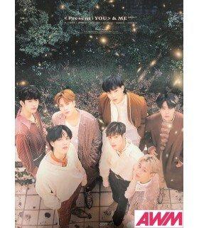 Affiche officielle GOT7 - Present You & Me (Type B)
