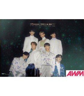 Affiche officielle GOT7 - Present You & Me (Type A)