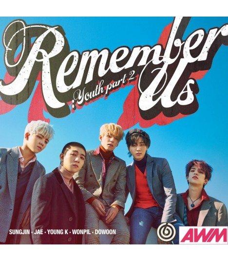 DAY6 (데이식스) Mini Album Vol. 4 - Remember Us: YOUTH Part 2 (édition coréenne)