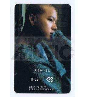 BTOB - Carte transparente PENIEL (BROTHER ACT.)