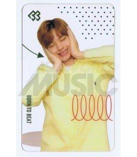 BTOB - Carte transparente SUNGJAE (2018 SEASON'S GREETING / TYPE A)