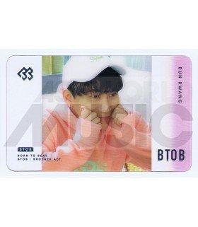 BTOB - Carte transparente EUNKWANG (2018 SEASON'S GREETING / TYPE B)