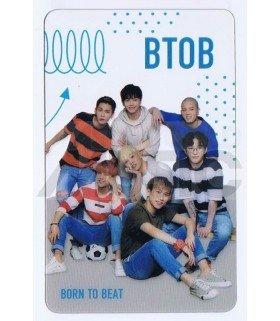 BTOB - Carte transparente BAND (STAR1 MAGAZINE PHOTOSHOOT)