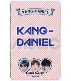 KANG DANIEL - Carte transparente LOGO 001
