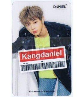 KANG DANIEL - Carte transparente 001