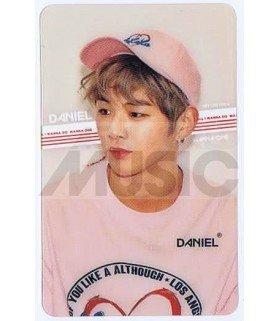 KANG DANIEL - Carte transparente 004