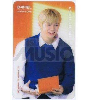 KANG DANIEL - Carte transparente 010