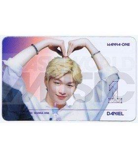 KANG DANIEL - Carte transparente 017