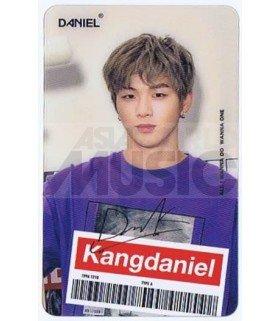 KANG DANIEL - Carte transparente 022