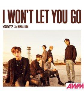 GOT7 - I WON'T LET YOU GO (MINI ALBUM) (édition normale japonaise)