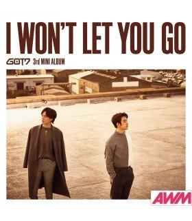 GOT7 - I WON'T LET YOU GO (Type D / MINI ALBUM + DVD) (édition limitée japonaise)