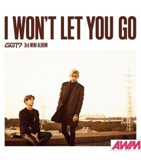 GOT7 - I WON'T LET YOU GO (Type C / MINI ALBUM + DVD) (édition limitée japonaise)