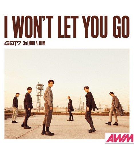 GOT7 - I WON'T LET YOU GO (Type A / MINI ALBUM + DVD) (édition limitée japonaise)