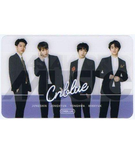 CNBLUE - Carte transparente BAND (FNC KINGDOM)
