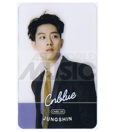 CNBLUE - Carte transparente JUNGSHIN (FNC KINGDOM)