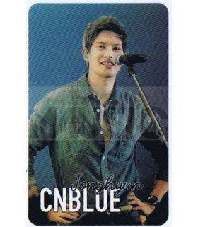 CNBLUE - Carte transparente JONGHYUN (LIVE CONCERT)