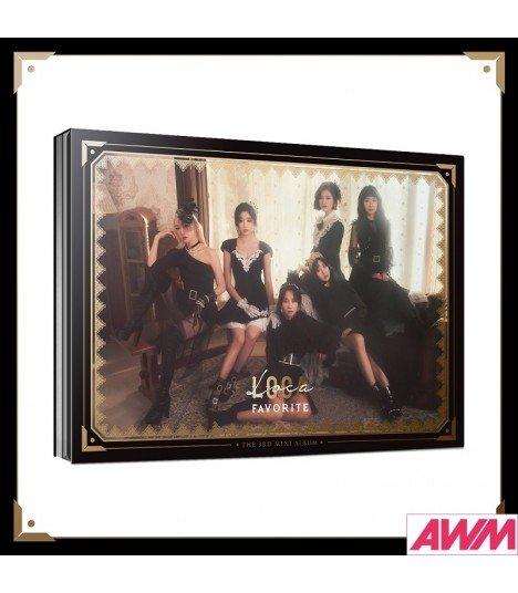 Favorite (페이버릿) Mini Album Vol. 3 - LOCA (édition coréenne)