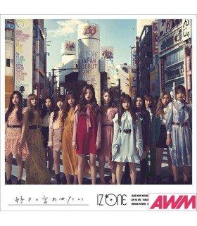 IZ*ONE - Suki to Iwatesai (Type B / SINGLE+DVD) (édition japonaise)