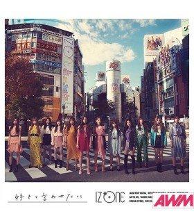IZ*ONE - Suki to Iwatesai (Type A / SINGLE+DVD) (édition japonaise)