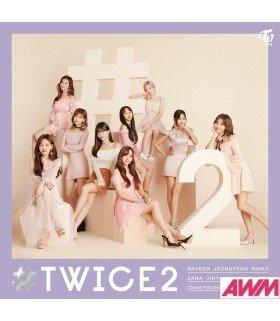 TWICE - TWICE2 (ALBUM) (édition normale japonaise)