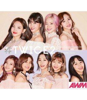 TWICE - TWICE2 (Type B / ALBUM+DVD) (édition limitée japonaise)