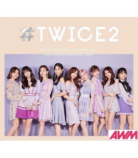 TWICE - TWICE2 (Type A / ALBUM+PHOTOBOOK) (édition limitée japonaise)