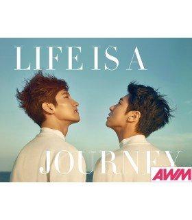 Dong Bang Shin Ki (TVXQ!) Photobook - LIFE IS A JOURNEY (édition coréenne)