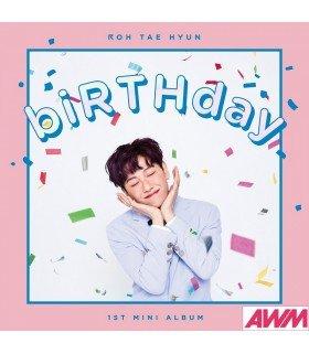 Roh Tae Hyun (노태현) Mini Album Vol. 1 - biRTHday (édition coréenne)