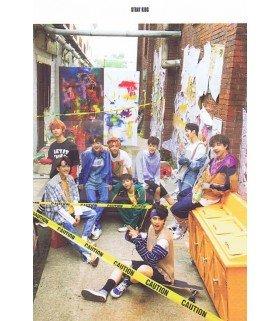 STRAY KIDS - Carte postale BAND (I AM WHO / TYPE B) 003