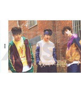 STRAY KIDS - Carte postale BANG CHAN X HYUNJIN X WOOJIN (I AM WHO / TYPE B)