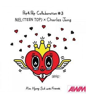 Niel (니엘) Kim Hyung Suk With Friends Pop & Pop Collaboration 3 - Niel (TEEN TOP) X Charles Jang (édition coréenne)