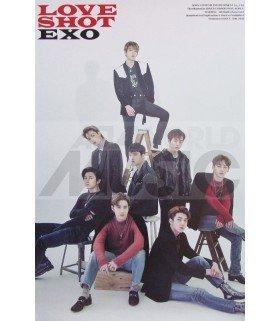 Affiche officielle EXO - Love Shot (Type A)