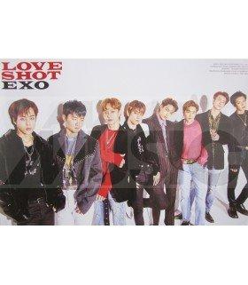Affiche officielle EXO - Love Shot (Type B)