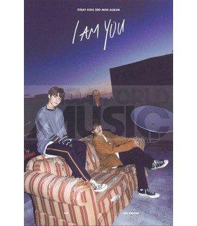 STRAY KIDS - Carte postale I.N X LEE KNOW (I AM YOU / TYPE A)