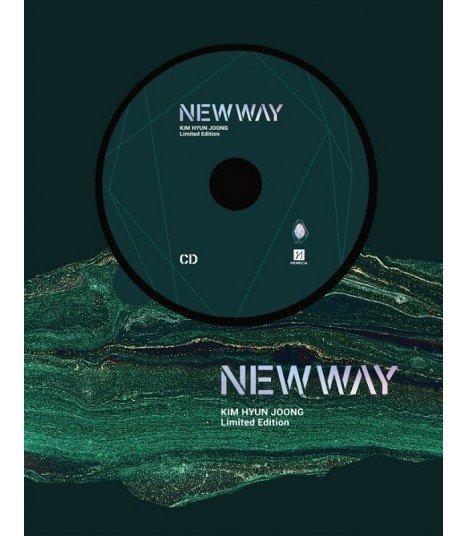 Kim Hyun Joong (김현중) NEW WAY  (édition limitée coréenne) (Poster offert*)