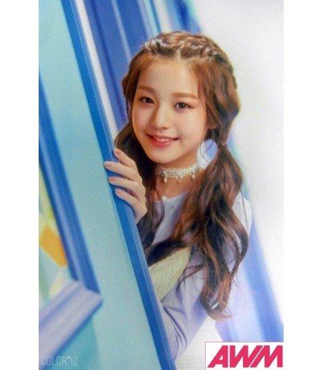 Affiche officielle IZ*ONE - COLOR*IZ (Poster Jang Won Young)
