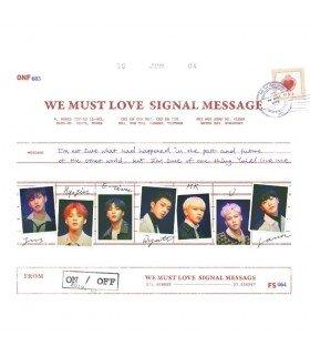 ONF (온앤오프) Mini Album Vol. 3 - WE MUST LOVE (édition coréenne)