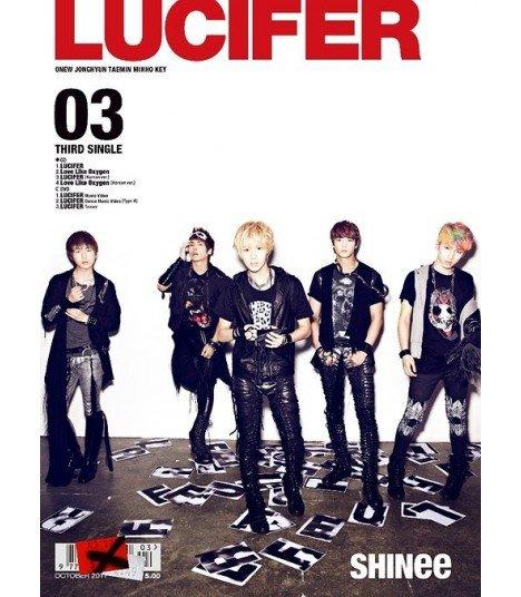 SHINee - LUCIFER (Type A)(SINGLE+DVD+PHOTOBOOK+BADGE MP3)(édition limitée japonaise)