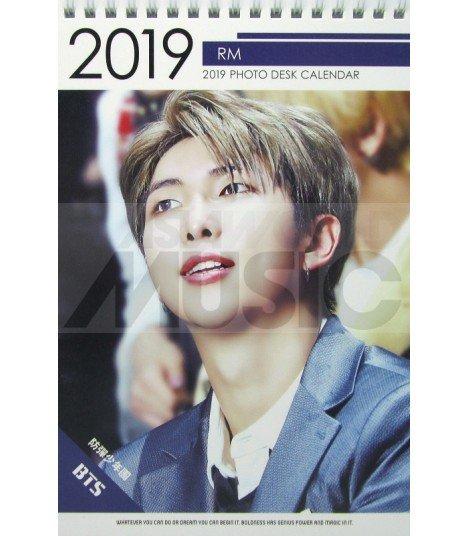 RM (BTS) - Calendrier de bureau 2019 / 2020 (Type B)