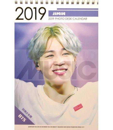 JIMIN (BTS) - Calendrier de bureau 2019 / 2020 (Type B)