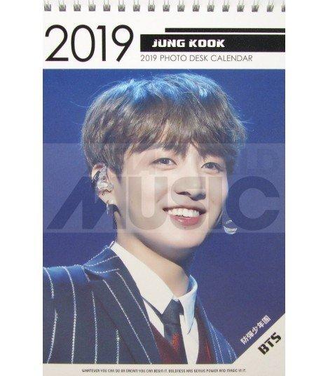 JUNGKOOK (BTS) - Calendrier de bureau 2019 / 2020 (Type B)