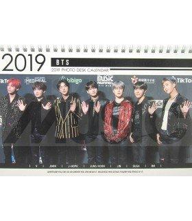 BTS - Calendrier de bureau 2019 / 2020 (Type B)