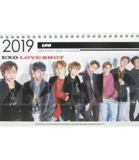 EXO - Calendrier de bureau 2019 / 2020 (Type B)