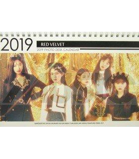 Red Velvet - Calendrier de bureau 2019 / 2020 (Type B)