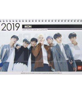 IKON - Calendrier de bureau 2019 / 2020 (Type B)
