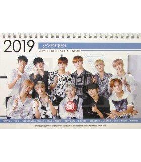 SEVENTEEN - Calendrier de bureau 2019 / 2020 (Type B)